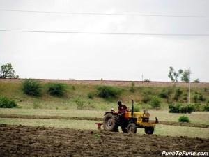 Farmer on the way