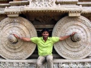 Anirudh at Stone Chariot