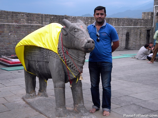 Standing Nandi of Baijnath (left one)