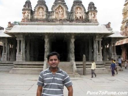 Santosh @ Virupaksha Temple