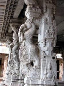Carved Pillars