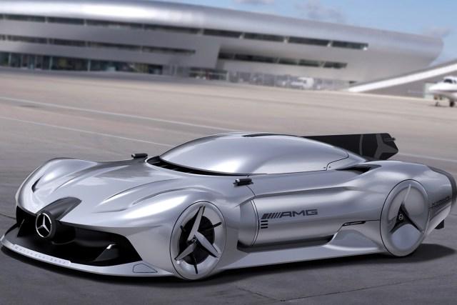 2040 Mercedes-Benz Streamliner