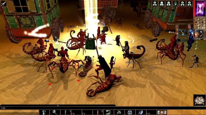 Neverwinter Nights: Enhanced Edition combat encounter
