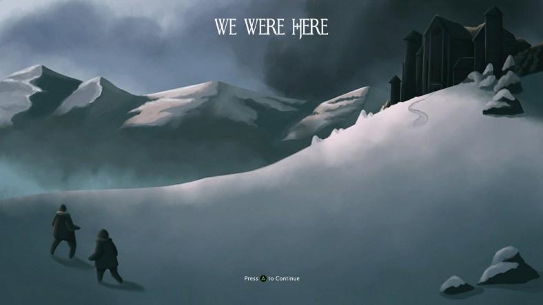 We Were Here - Xbox One title screen