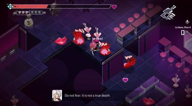 Boyfriend Dungeon Review - combat gameplay Rowan