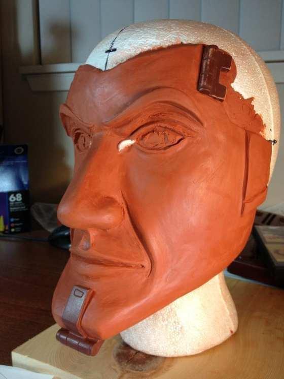 Handsome Jack - Hardware Embedded Face