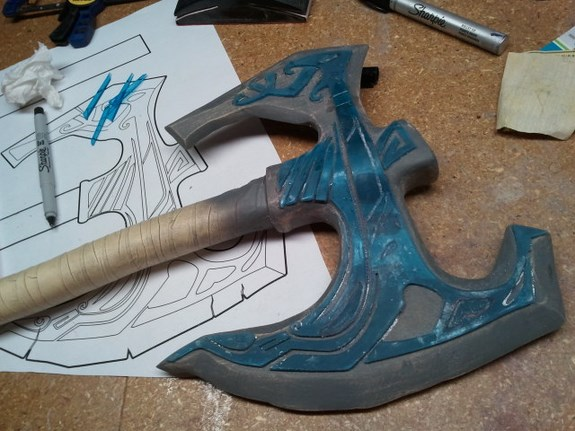 Draugr Axe Lasers