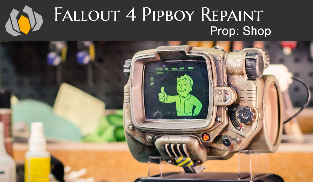 Fallout 4 Pipboy Repaint Punished Props