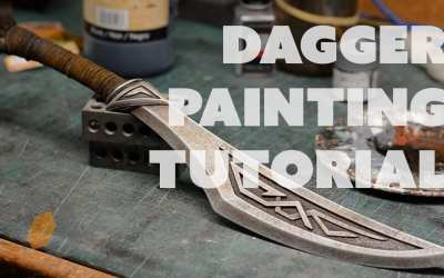 How to Paint Plastic Props to Look Like Real Metal – Prop: Live from the Shop