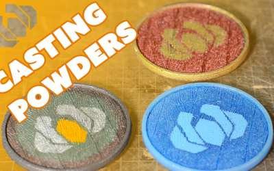 Casting Coasters with Shiny Powders! – Prop: Live from the Shop