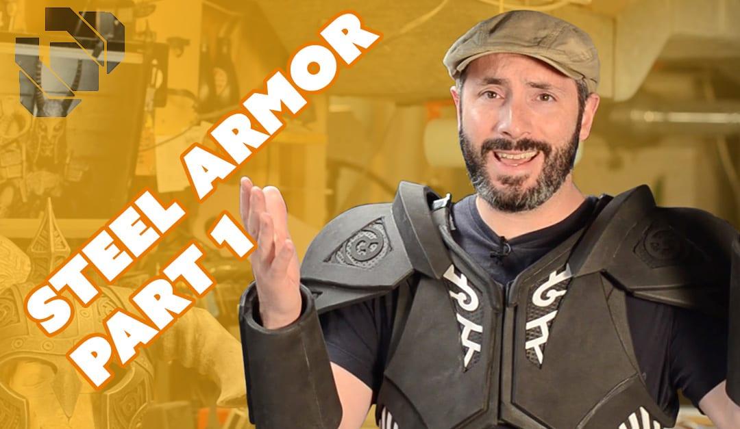 How to Make Skyrim Steel Armor Costume Part 1: Foam Fabrication