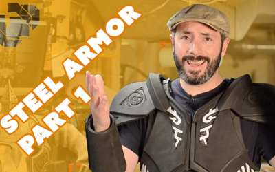 How to Make Skyrim Steel Armor Costume Part 1: Foam Fabrication