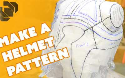 How to Make a Helmet Pattern – Prop: Shop