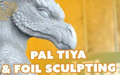 Sculpting with Hot Glue, Tin Foil, & Pal Tiya Clay – Prop: Shop