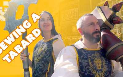 Sewing a World of Warcraft Tabard – Prop: Live from the Shop
