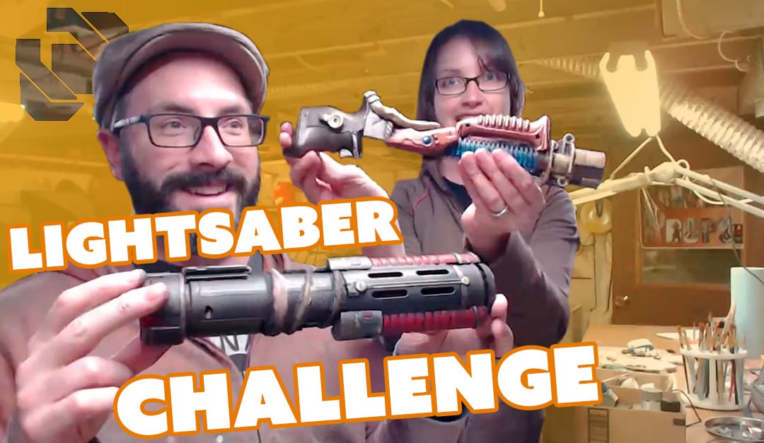 Lightsaber Build – $20 Challenge – Prop: Live from the Shop