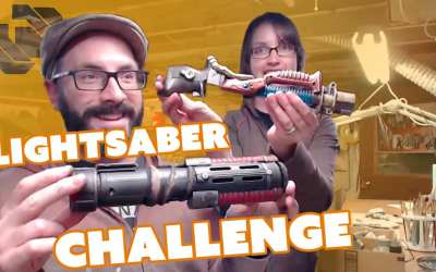 Lightsaber Build – $20 Challenge – Prop: Live from the Shop