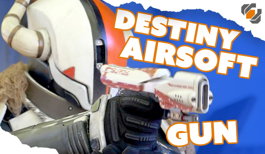 How to Make a Functional Destiny Airsoft Sidearm
