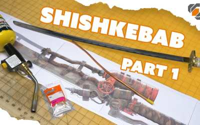 Building A Real Fire Spewing Shishkebab from Fallout – Part 1: Design