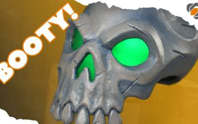Sea of Thieves Skull Prop – ONE DAY BUILD – Tutorial + Free Templates