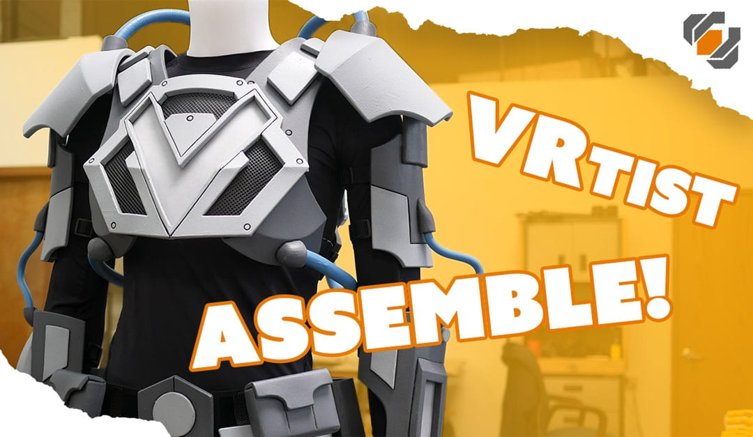 Armor Painting and Assembly – VRtist Jazza Collab – Part 2