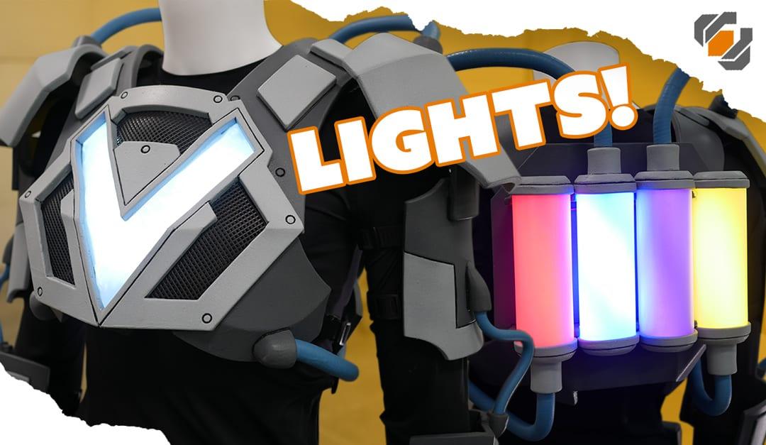 Costume Lights! – VRtist Jazza Collab – Part 3