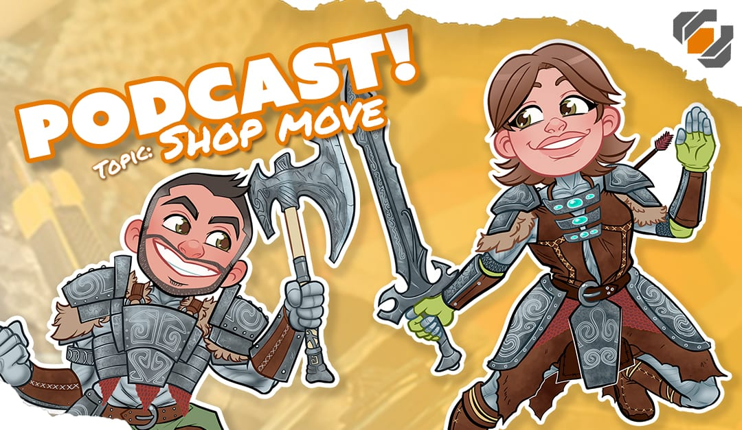 Prop Live Podcast 7/11/18 – Shop Move Story