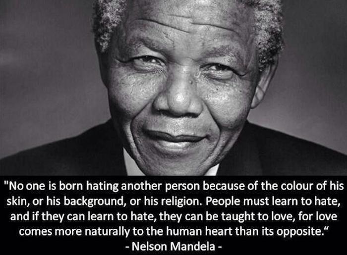 Nelson Mandela & Teaching Invictus