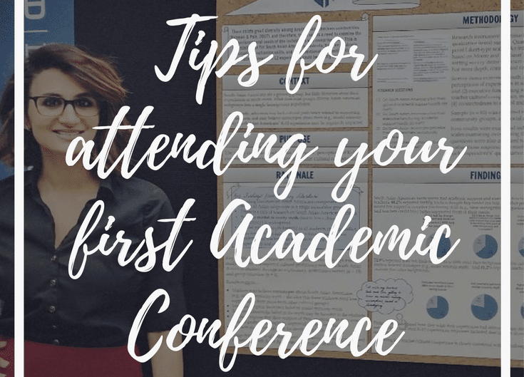 Tips for attending your first Academic Conference