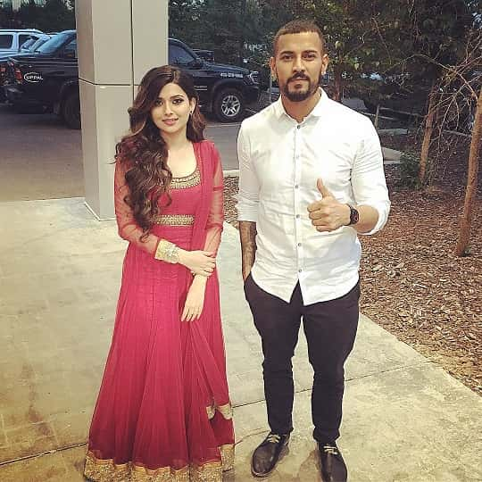 Garry Sandhu and Nimrat Khaira