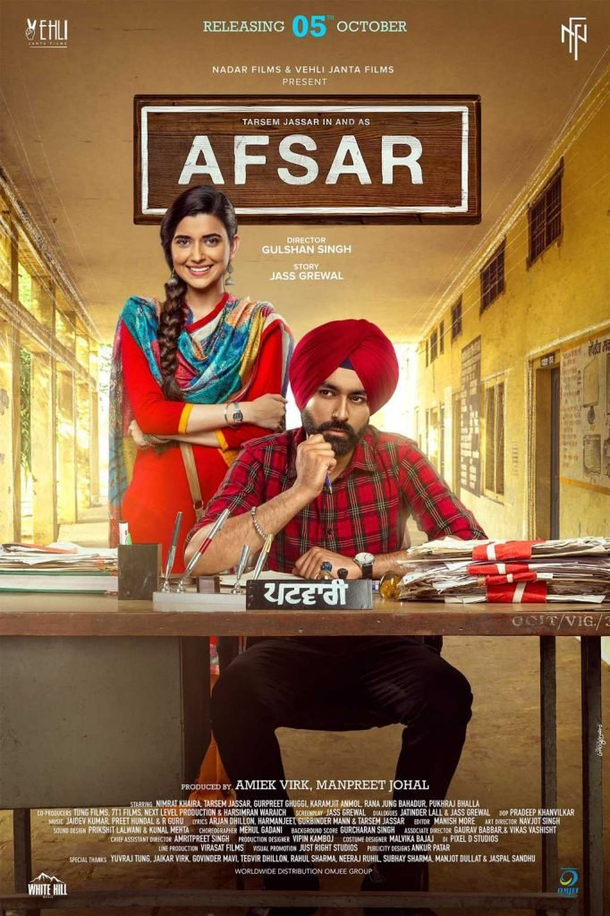 Afsar Movie Full Star Cast & Crew, Songs, Story, Release Date, Wiki Tarsem Jassar, Nimrat Khaira
