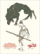 300 (artwork by Tomer Hanuka)