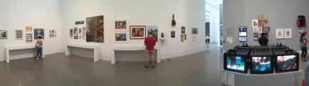 Panorama of the third gallery.