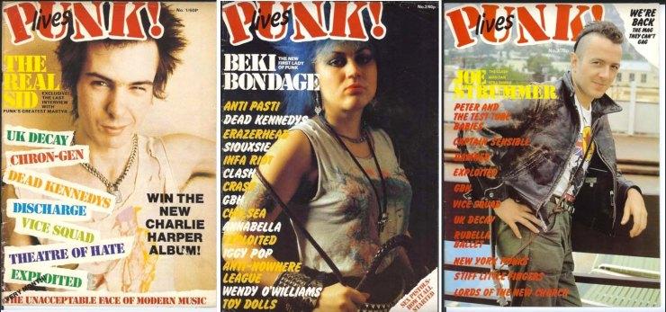 Punk Lives x3