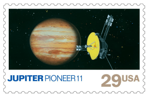 USA 1991 Space Exploration Jupiter stamp