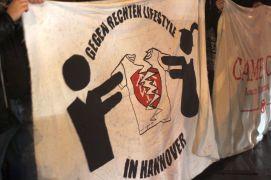 Protest gegen das FreiWild Konzert