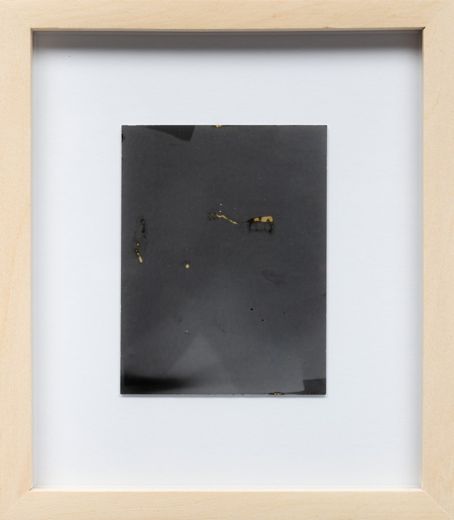 Dobokay Máté: Exposed (for Alison Rossiter), 2019, 12x9cm. Fotó: Biró Dávid.