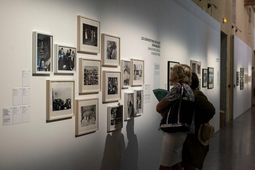 Részlet a kiállításból. ©Anaïs_Fournié, Les Rencontres de la Photographié, 2019