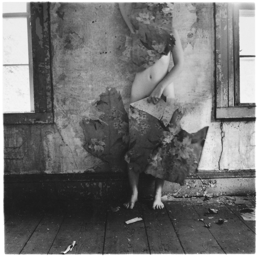 Francesca Woodman: Space 2, 1976. Detroit Institute of Arts Museum.