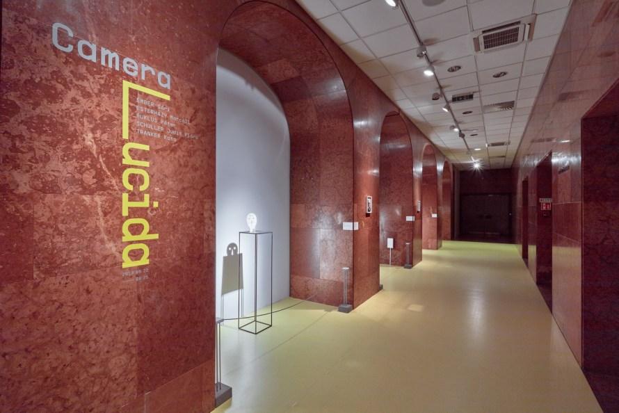 Camera Lucida, enteriőr. Fotó: Biró Dávid/Magyar Nemzeti Galéria.