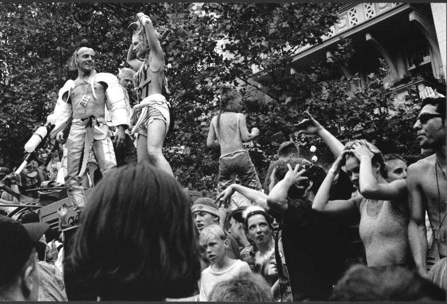 Ben de Biel: Loveparade Ku'damm, 1992. Fotó: C/O Berlin
