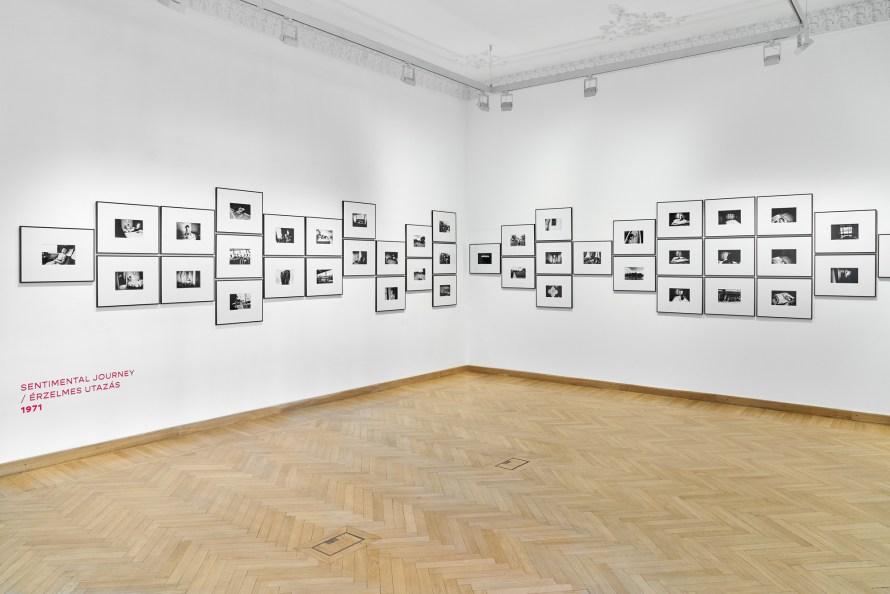 Nobuyoshi Araki: Sentimental Journey, installation view. Photo: Imre Kiss.