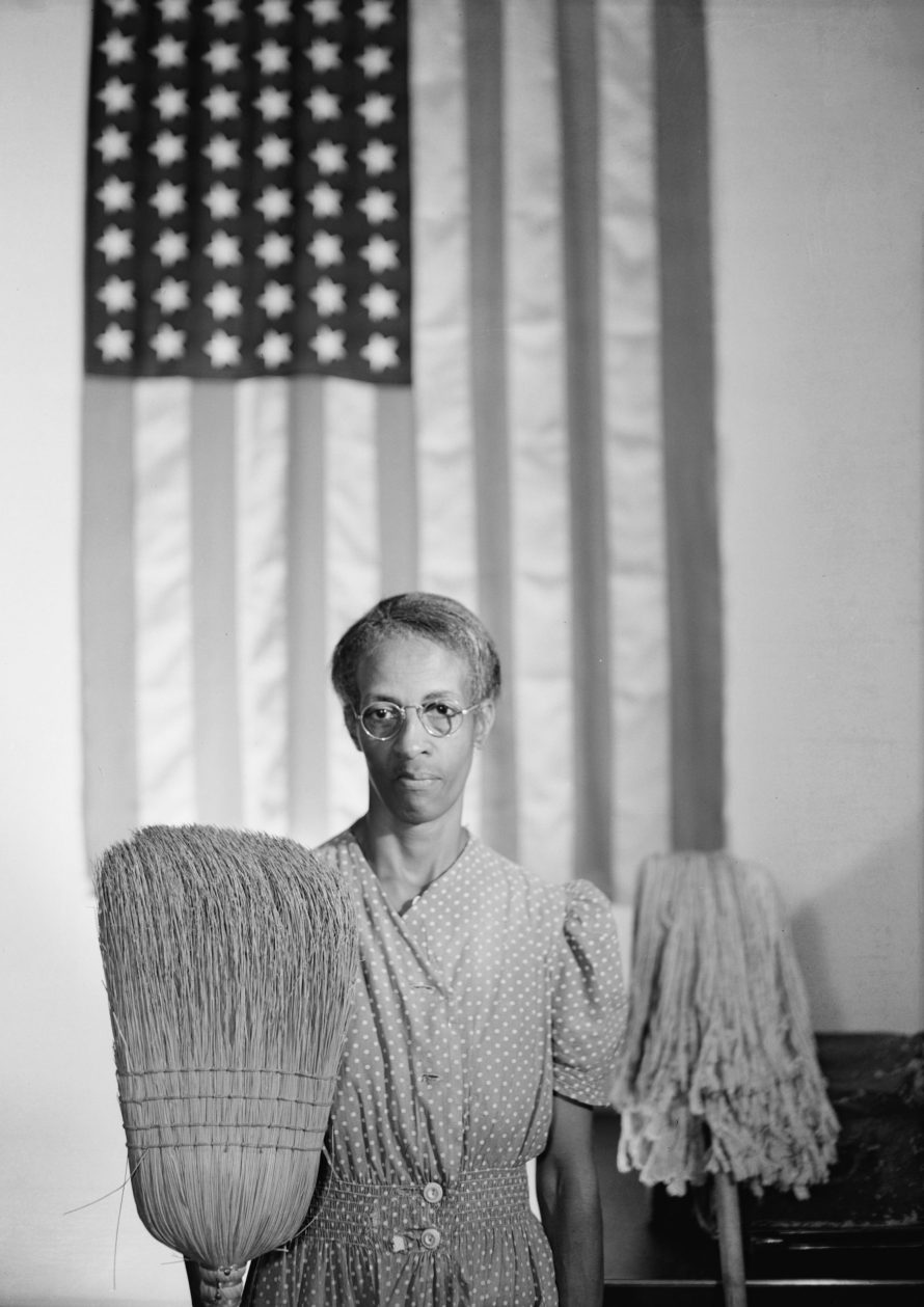 Gordon Parks: American Gothic, 1942. Forrás: Library of Congress