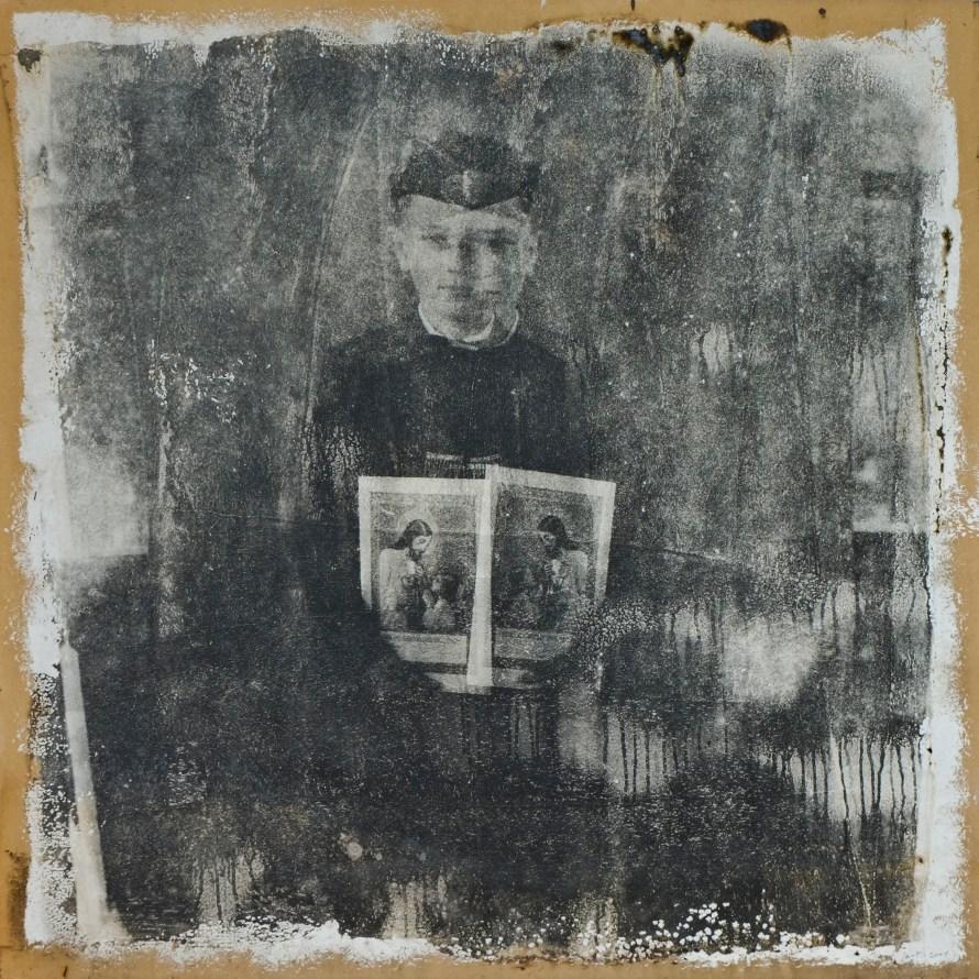 Minyó Szert Károly: Kettős én, 2000, ezüstbromidzselatin © Minyó Szert Károly