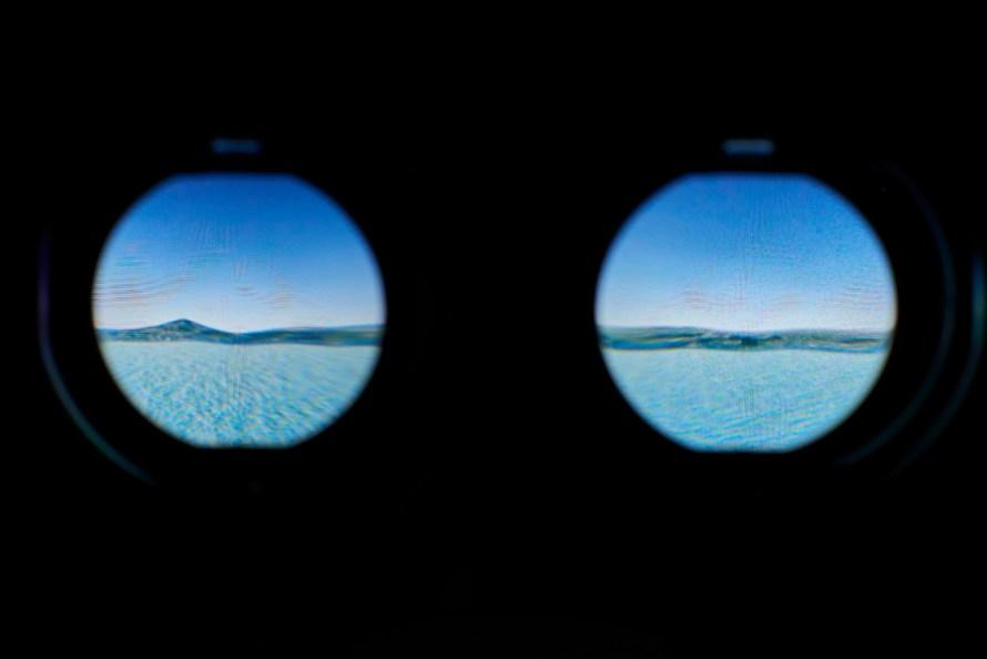 Johan F. Karlsson: Double Sunrise (in the VR-headset)