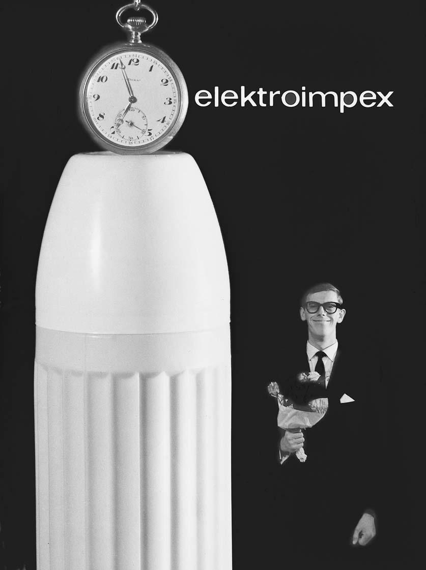 Tóth József Füles: Elektroimpex. Hőpalack-reklám (1963)