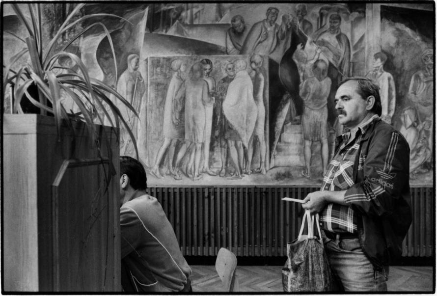 Benkő Imre: Munkaügyi Központ, Ózd, 1995 © Benkő Imre
