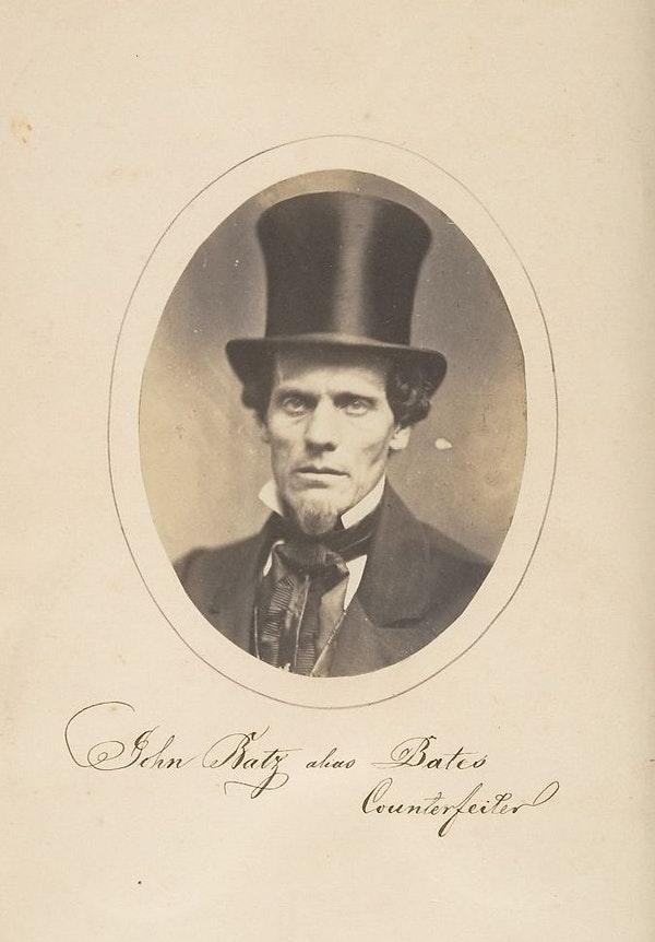 Fotó: Samuel G. Szabó: Hamisító portréja, 1857. The Metropolitan Museum of Art