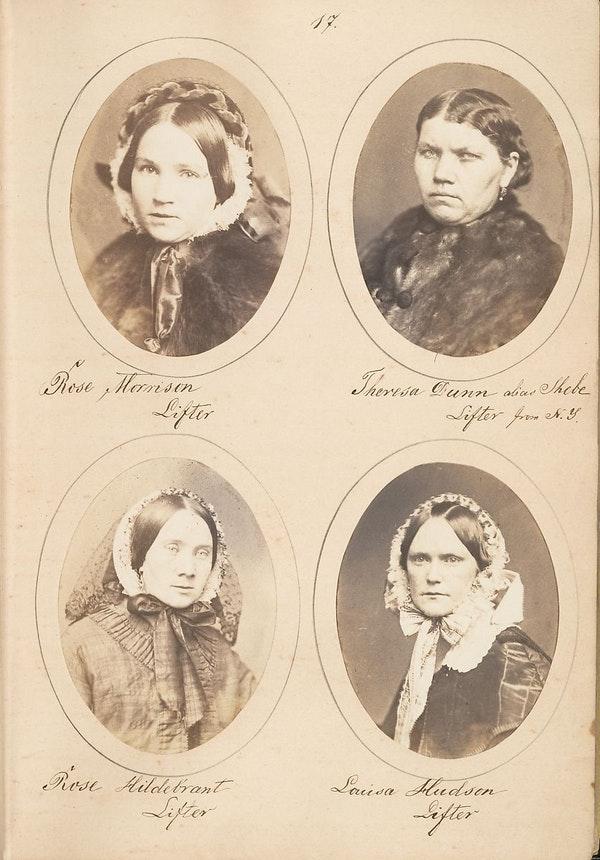 Fotó: Samuel G. Szabó: Tolvajok portréja, 1857. The Metropolitan Museum of Art
