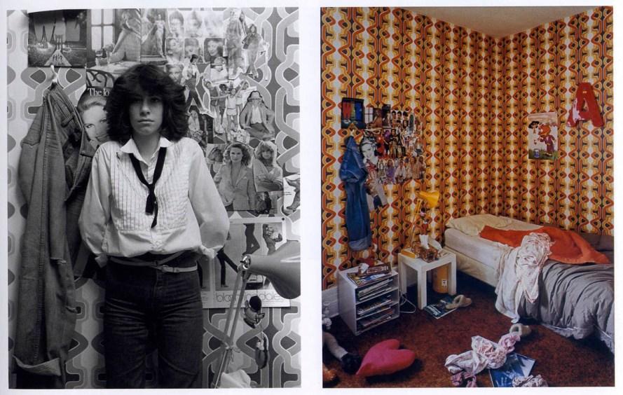 Fotó: Szilasi Gábor: Andrea, Portrait/Intérieur sorozat, 1979